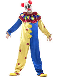 adults clown costume goosebumps circus act fancy dress ebay