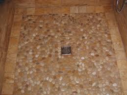 How To Tile A Bathroom Shower Floor Pebble Bathroom Tiles Bathroom Tile Blue Porcelain Floor Tile