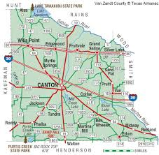 Map Of The State Of Texas Van Zandt County The Handbook Of Texas Online Texas State