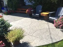 concrete finishing services in the comox valley and north island