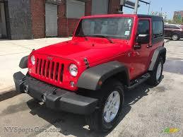red jeep liberty 2005 2015 wrangler sport 4x4 firecracker red black photo 1 jeep