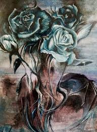 winter dragon roses by lovechristi chan on deviantart
