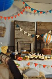 classic air balloon baby shower baby shower ideas themes