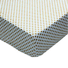 Gold Polka Dot Bedding Gold And White Ruffle Gold Dot Crib Baby Bedding Set U2013 Jack And