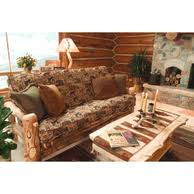 log sofas and couches rustic futons and loveseats