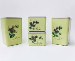 lime green kitchen canisters 186 best vintage canisters images on vintage canisters