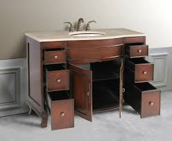 Antique Style Bathroom Vanities by Design Element Edwardian 48