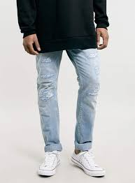 mens light blue jeans skinny ripped jeans for men light blue topman light wash ripped skinny