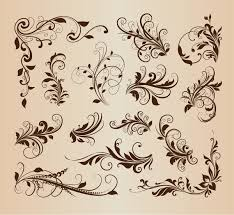 free ornaments and flourishes free vector in encapsulated