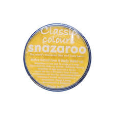 snazaroo 18ml bright yellow face paint painting makeup walmart com