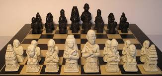 ancient chess egyptian chess pieces