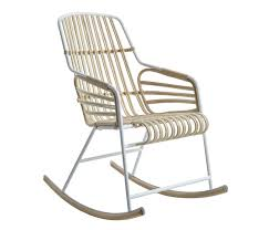 Rocking Chair Miami Raphia Rocking Rocking Chair Chairs From Casamania Architonic