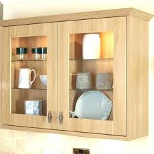 kitchen wall cabinets with glass doors glass fronted wall cabinet ghostgear co