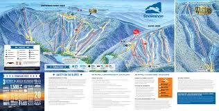 Italy Mountains Map by Snowshoe Mountain Resort Trail Map