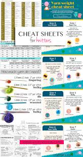 great sheets great cheat sheets for knitters