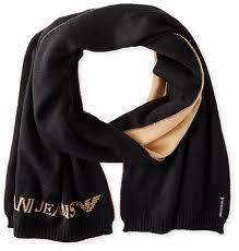 buy armani jeans women u0026 39 s white mix wool beanie with studs logo
