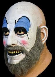 captain spaulding costume captain spaulding mask grim nation masks costumes
