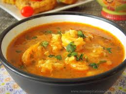 cuisine crevette soupe aux crevettes شربة القمرون او الجمبري le cuisine de