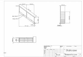 floor plan stairs how to show stairs in a floor plan awesome a simple cad drawing