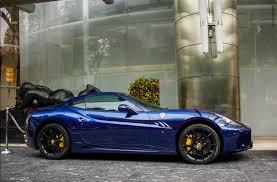 Ferrari California Colors - le mans blue ferrari california 1 madwhips