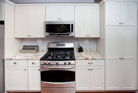 White Kitchen Cabinets White Appliances Buttermilk Ivory Kitchen Cabinets Decorating Your Kitchen With