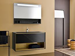 design bathroom vanity frame fr6 modern italian designer vanity in black lacquered wood