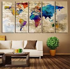 Decorative World Map 40 Creative Remakes Of The World Map Hongkiat