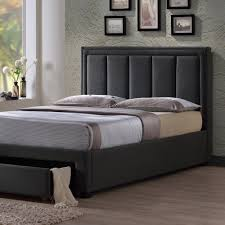 Atlanta Bed Frame Atlanta Fabric Bed Frame By Time Living