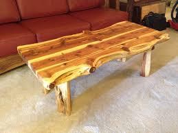 live edge table with turquoise inlay liveedge red cedar coffee table with turquoise inlay boulder