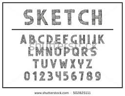hipster typographyfont vector stock vector 288789074 shutterstock