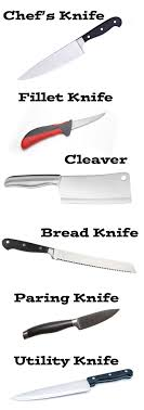 different kinds of kitchen knives different types of kitchen knives different knives and their uses