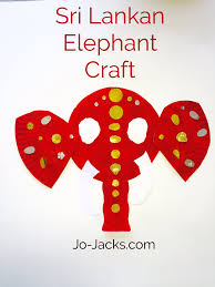 lotus flowers and elephants crafts south asian educational