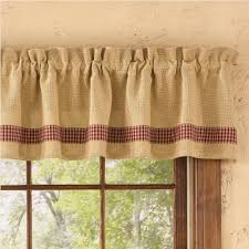 burlap kitchen curtains layered shabby washed rustic chic burlap
