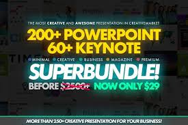 design power powerpoint bundle presentation templates creative