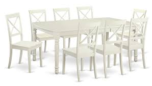 9 Piece Dining Room Sets East West Dover 9 Piece Dining Set U0026 Reviews Wayfair