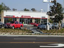 toyota california auto dealerships scott peterson landscape architect inc