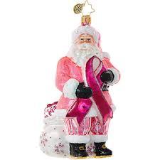 Dog Christmas Ornaments Christopher Radko Charity Ornaments Breast Cancer Aids Alzheimer U0027s