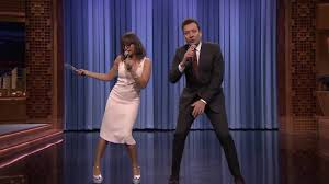 jimmy fallon and rashida jones turn pop hits into parodies