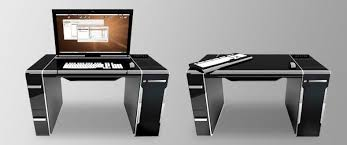 Modern Minimalist Computer Desk Download Sleek Computer Desk Waterfaucets