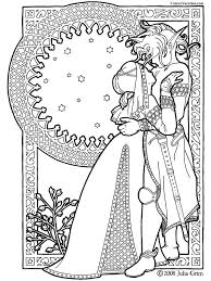 complicated coloring pages for adults 84 best coloring pages to print goddess images on pinterest