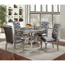 kitchen table furniture brushed stainless steel glass dining table and memory swivel