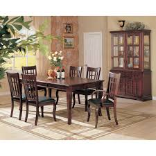 coaster furniture 100500 newhouse dining table in cherry