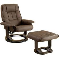 ottoman leather recliners you u0027ll love wayfair