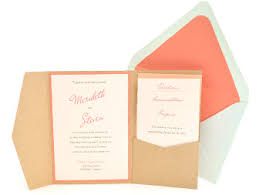 pocket fold envelopes wedding pocket invitation supplies