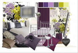 yellow purple and grey living room u2013 modern house