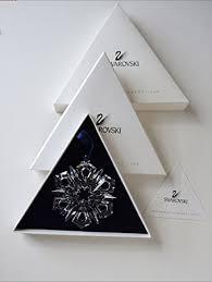 swarovski annual snowflake ornament 1999