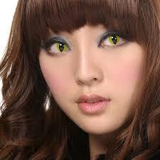 geo crazy cat eye contact lenses sf 05 yellow usd19 95 geo