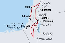 Blank Map Of Israel And Palestine by Israel Tours U0026 Travel Intrepid Travel Au