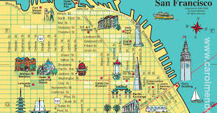 san francisco map downtown san francisco city tourist maps pictures california map cities