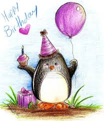 Penguin Birthday Meme - happy birthday debbie from your penguin friend i wish you a